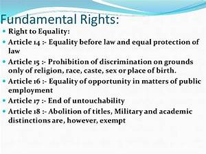 equality before the law essay