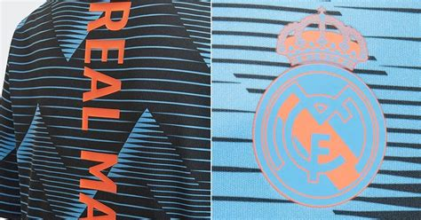 real madrid pre match shirt leaked footy headlines