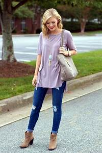 Best 25+ Ankle boots with jeans ideas on Pinterest   Boots with jeans Knee high winter boots ...