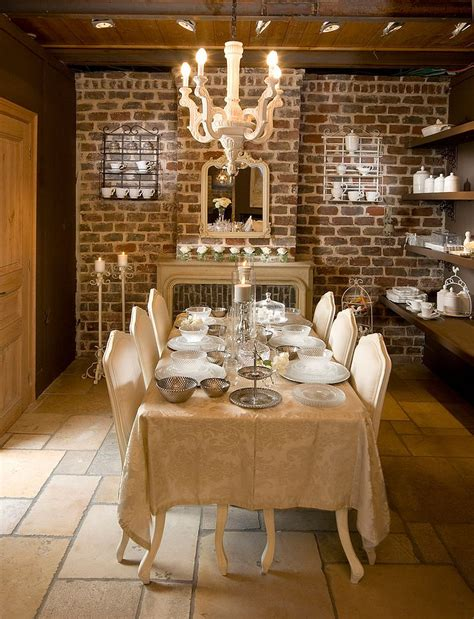 Tile Flooring Ideas For Dining Room by 50 Bold And Inventive Dining Rooms With Brick Walls
