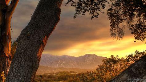 Mountain Sunset Wallpaper 2412  Background Wallpaper Hd