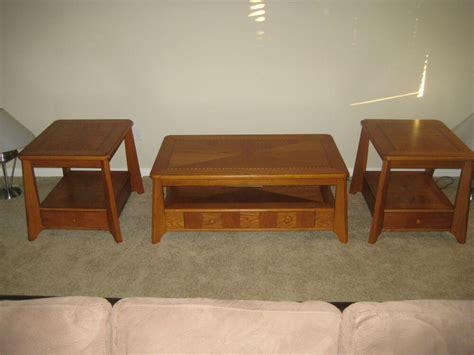 piece living room coffee  table set