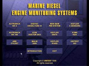 Marine Diesel Engine Monitoring Systems