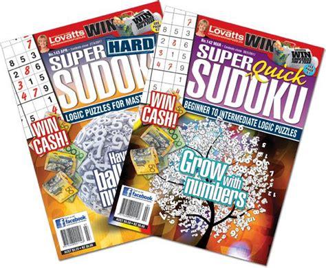 Super Sudoku Magazine By Lovatts