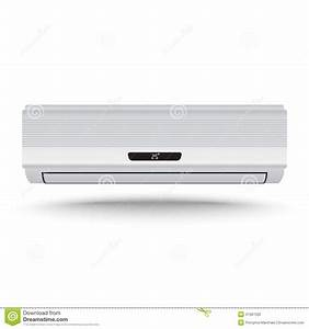 3D Realistic Air Conditioner Vector Stock Vector ...