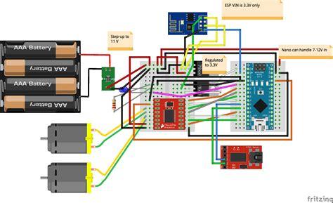 quick rc robot controlled  ios app hacksterio