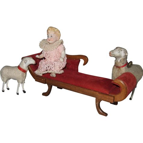 chaises retro vintage miniature chaise lounge from shirleydoll on ruby