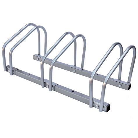 Bike Rack For Garage Floor by 2 3 4 Bike Floor Wall Mount Bicycle Locking Stand Garage