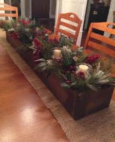 Long Christmas Table Centerpieces