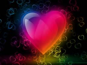 Colorful Heart  Other & Abstract Background Wallpapers On