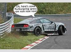 2016 Ford Mustang Shelby GT350 Almost Crashes During