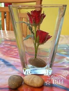 Rosen Im Glas : kleine tischdeko mit rosen l ttes blog ~ Eleganceandgraceweddings.com Haus und Dekorationen
