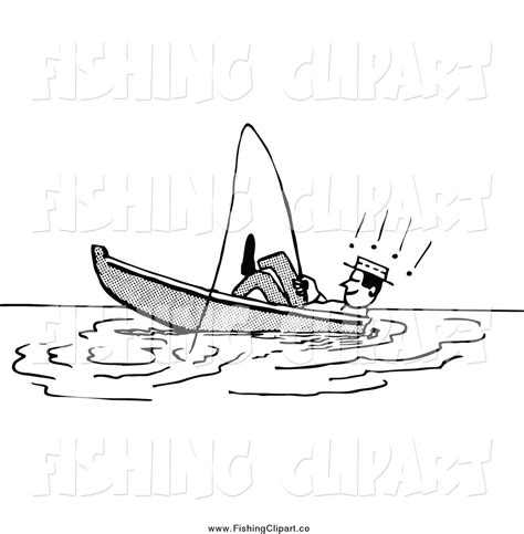 Fishing Boat Clipart Black White by Fishing Boat Black And White
