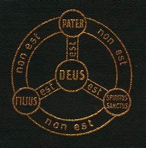 Shield Of The Trinity Or Scutum Fidei  Shield Of Faith