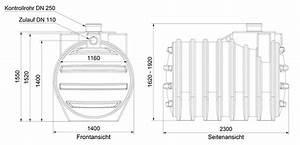Zisterne 6000 L : 6000 l abwassertank system f kalientank abflusslose ~ Lizthompson.info Haus und Dekorationen