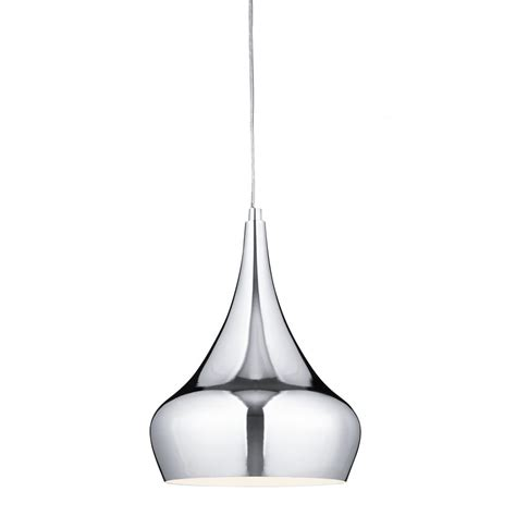 3200cc chrome yurt pendant light