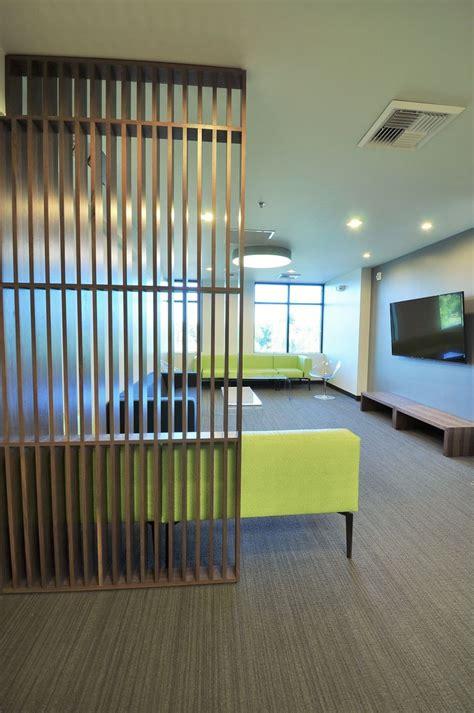 tanasbourne family dental modern waiting room wood