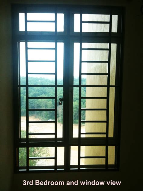 Bedroom Window Grill modern window grill 2013 condo malaysia studio