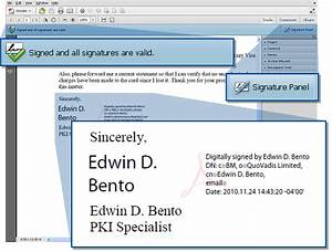 how do you sign an adobe pdf in adobe acrobat x With digital signatures for pdf documents