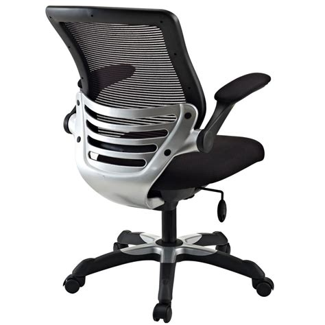 lexmod edge office chair with black mesh back