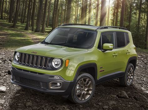 dimension jeep renegade 2016 jeep renegade 75th anniversary edition technical