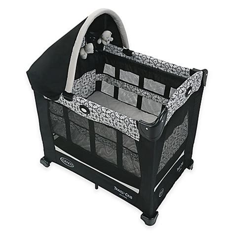 graco portable crib graco 174 travel lite 174 crib with stages in sutton buybuy baby