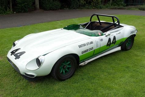 Jaguar E-type Group-44 Race Car