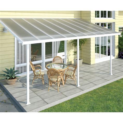 suntuf 5 4 x 3m white pergola patio with posts bunnings
