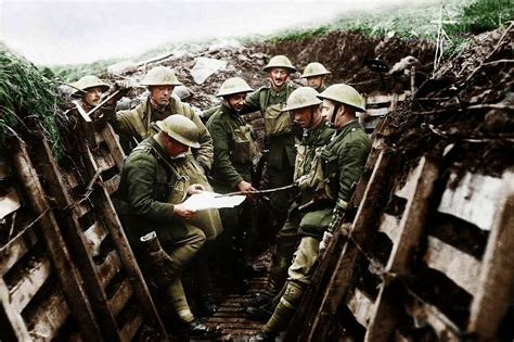 world war 1 in color amazing world war one images transformed into color