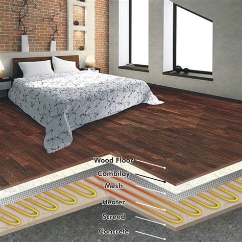BAMBOO FLOORING: FLOOR HEATING UNDER SOLID WOOD FLOORING