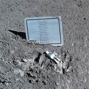 There Is a Sculpture on the Moon Commemorating Fallen ...
