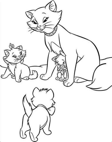 disegni aristogatti da colorare  bambini