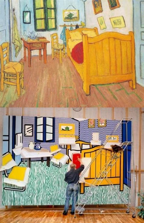 The Bedroom At Arles Analysis by Roy Lichtenstein Bedroom At Arles Analysis Www