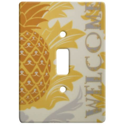 pineapple light switch cover single switch wall plate
