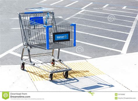 sacramento usa september  walmart shopping cart