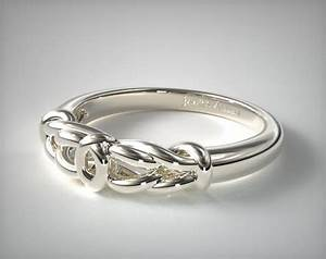 love knot wedding ring platinum james allen 14775p With love knot wedding ring