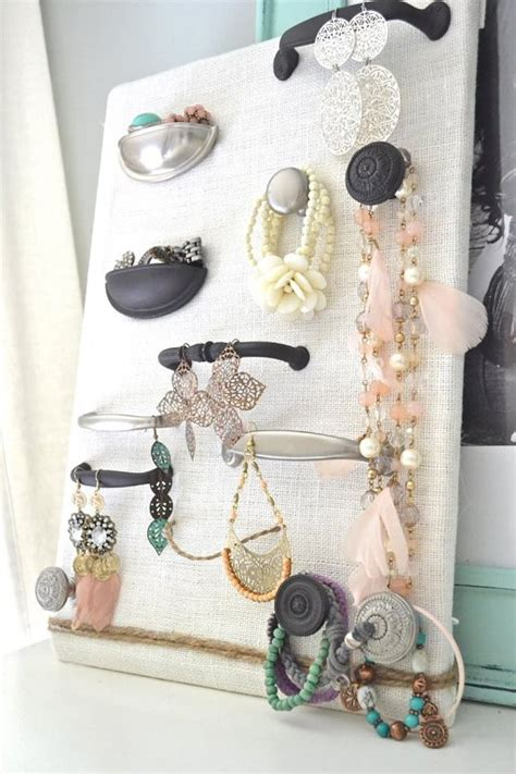 top  creative diy ideas  jewelry hangers