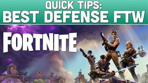 fortnite defense ftw fortnite defense build guide