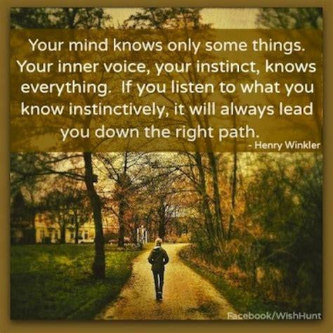 follow  instincts quotes quotesgram