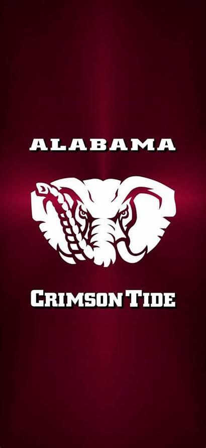 Bama Tide Crimson Alabama Iphone Football Metal