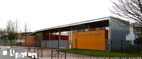 lycee chateau blanc chalette sur loing atelier d architecture julie pouzaint portfolio construction bois