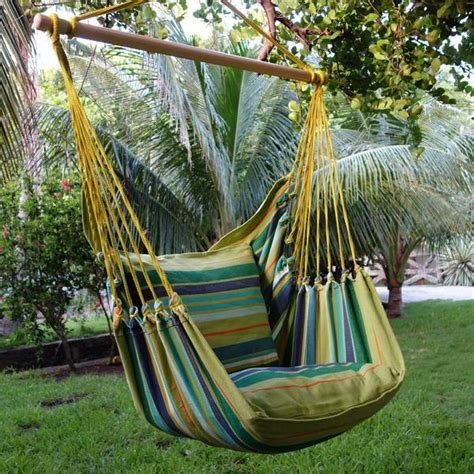 hanging hammock chair tranquility flora decor