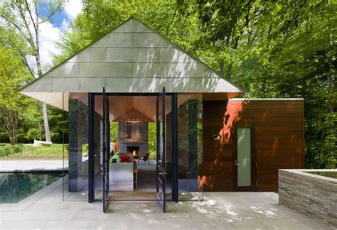 Modernes Haus Mit Garten by Contemporary Garden Pavilion Pool House Idesignarch