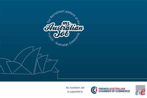 chambre de commerce franco australienne une nouvelle plateforme de recherche d 39 emploi en australie