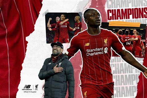 Liverpool Premier League Champions 2020 Wallpapers ...