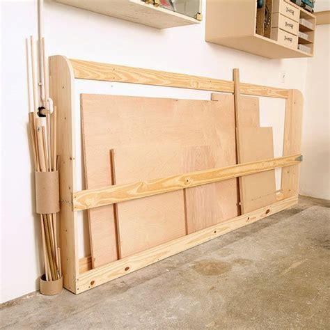 images  workshop lumber racks  pinterest