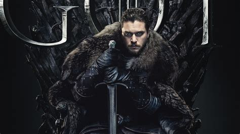 Jon Snow In Game Of Thrones Final Season 8 2019 Wallpapers