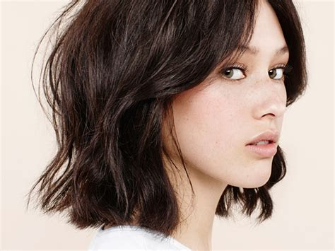 layered bob haircuts  weightless textured styles