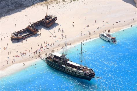 Navagio Shipwreck Beach How The Shipwreck Became A