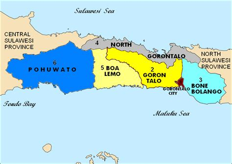 gorontalo province archi pelago fastfact